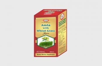 AMLA WITH WHEAT GRASS