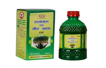 ALOEVERA WITH WHEAT GRASS